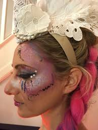 new year stylized party make up