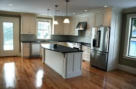 with an open floor plan the dining area leads to the large kitchen which