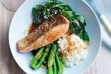 baked asian style salmon