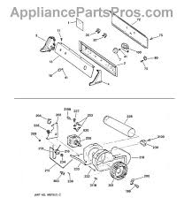 ge we12x83 idler pulley appliancepartspros com part diagram