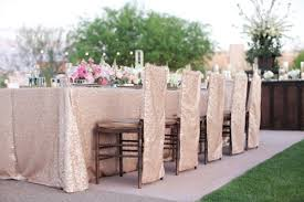 sequin tablecloths blush champagne light gold gold 8 foot 90 x156 6 foot 90 x132 132 120 108 round freeship