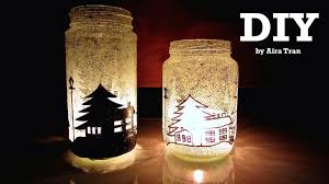 Decorating Candle Jars Aira Tran DIY Christmas Decorations Candle Jars 18