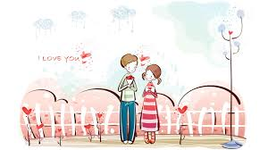 february 2015 desktop background. Contemporary 2015 Happy Valentine Day Cartoon Wallpaper Intended February 2015 Desktop Background T