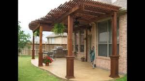 patio cover designs wood free standing youtube wood patio covers o65 wood