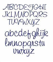 Girly Alphabet Letter Fonts Girly Font Alphabet Fonts Art