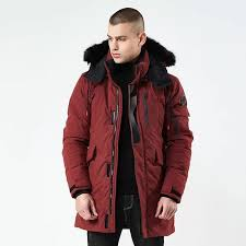 2019 2018 winter jackets for men fur hooded parka detachable warm wind breaker long stylish mens winter coats men parkas for russia from caeley