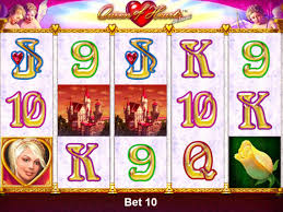 Casino slot game Queen of Hearts Deluxe no deposit