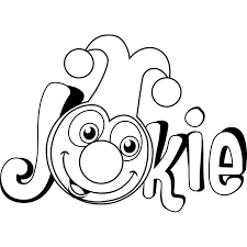 Kleurplaat Jokie Jokie En Jet Silhouette Cameo Belly Painting