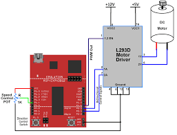 interfacing dc motor with msp exp430g2 ti launchpad