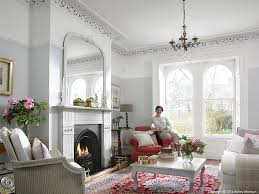 Living Room Victorian House Emma Cooper In The Sitting Room Of Her Victorian Semi Detached