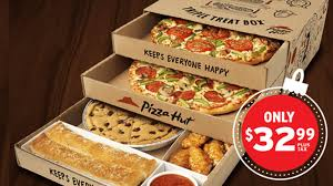 pizza hut triple treat box holiday. Fine Triple The Triple Treat Box Is Back At Pizza Hut Canada For 2016 Holiday Season And U
