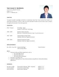 Post Graduate Resume Extraordinary Post Graduate Resume Format For Postgraduate Students Latex