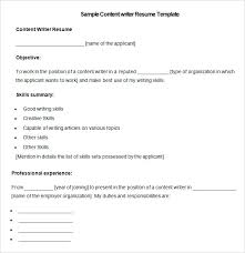 Technical Writer Resume Samples Best of Radio Copy Writer Resume Media Resume Template Free Samples Examples