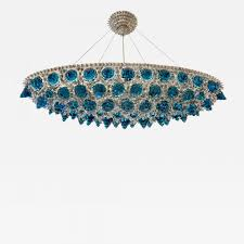 listings furniture lighting chandeliers and pendants contemporary italian turquoise blue clear glass