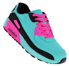 Art 613 Neon Luftpolster Turnschuhe Schuhe Sneaker Sportschuhe Neu Damen -  Kaufen bei planetshoes