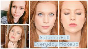 makeup for redheads autumn fall everyday makeup routine 2 lip options simply redhead