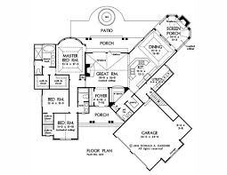 75 best bungalow house plans images on pinterest bungalow house House Plans Designs Bungalow one level floor plan 2091 sq ft house dimension shotgun bungalow house plans designs