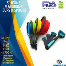 <b>Silicone Measuring Cups</b>   eBay