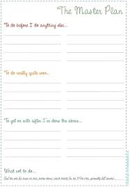 Organize Your To Do List With Master To Do List Printables