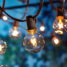 better homes and gardens outdoor 20 count clear globe string lights com