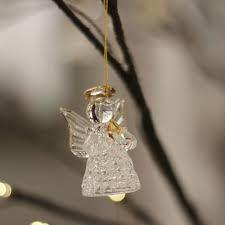 Textiles Flair Baumschmuck Engel Glas Sortiert 6er Set