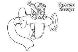 Free Printable Curious George Coloring Pages Eskayalitim