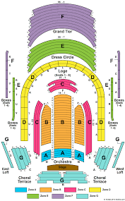 Boulder Theater Seating Chart Meyerson Seating Chart