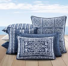 Gorgeous blue pillows for your patio Perennials Corsica Outdoor