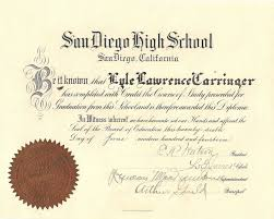 genea musings treasure chest thursday lyle carringer s high  for treasure chest thursday this week i m presenting my grandfather s high school diploma