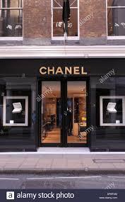 chanel uk. chanel store in bond street london england uk uk
