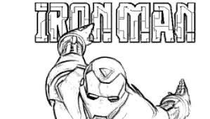 I Disegni Da Colorare Di Iron Man Con Immagini Di Iron Man Da