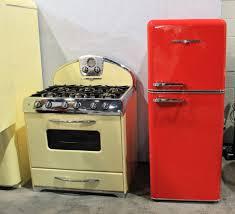 Red Retro Kitchen Interesting Red Retro Kitchen Appliance Stainless Steel