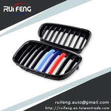 Front Grille For BMW 5 Series F07 5GT M-Color <b>Gloss Black</b> ...