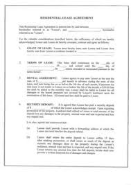 free lease agreement forms to print free rental agreements to print free standard lease agreement