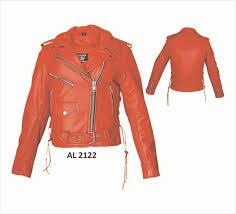 leather motorcycle jacket al2122
