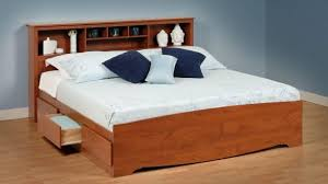king bed with drawers. Improved King Bed Frame With Storage And Headboard Platform Beds Drawers Cherry Size