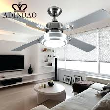 bright ceiling fan modern ceiling fans with lights and remote modern silver color