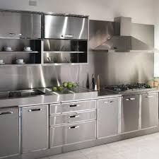 Steel Kitchen Cabinets Of Special Stainless Steel Kitchen Cabinets
