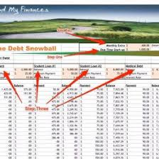 debt snowball calculator free free printable debt snowball worksheet pay down your debt