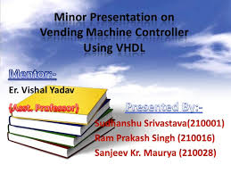 Vhdl Code For Vending Machine With State Diagram Best Vending Machine Controller Using VHDL