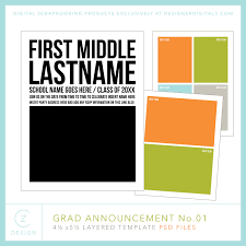 Budget Friendly Diy Graduation Or Any Party Announcement Cz Design