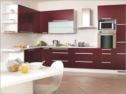 modular kitchen colors: wine coloured modular kitchen  wine coloured modular kitchen