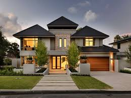 2 tags Traditional Exterior of Home with Pathway, exterior stone floors,  Raised beds, exterior brick