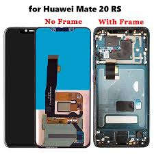 Huawei Porsche Design Phone Lcd Display Touch Screen Digitizer Assembly Wth Frame For Huawei Mate 20 Rs Porsche Design
