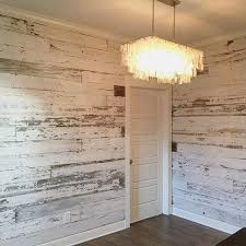 pallet wood wall whitewash. here\u0027s a look at recent white wall we created using our reclaimed barn wood skins. walls pallet whitewash s