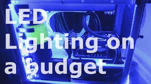 est rgb pc led lighting setup 5050 44 key remote strip review