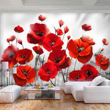Wall painting flowers, Flower mural ...
