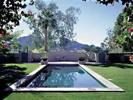 rectangular pool designs with spa. Rectangular Pool Surrounded By Grass Designs With Spa