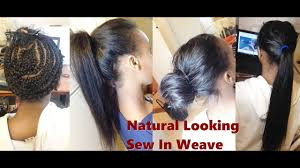 Hair Length Chart Weave Straight How To Natural Looking Sew In Weave