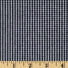 check small. Kaufman Railroad Denim Small Check - Discount Designer Fabric Fabric.com T